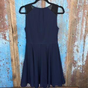 Express Dresses - Express Navy Sleeveless Dress